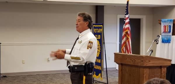 UPDATED with Video: Sheriff Donald Valenza Speaks at Rotary