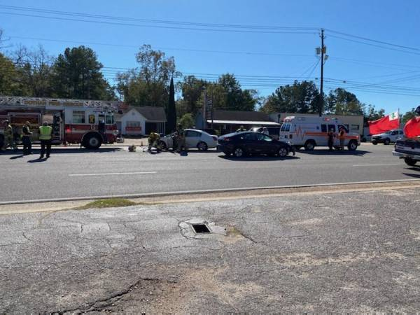 11:48 AM... T-Bone Accident in the 2800 Block of Montgomery Hwy