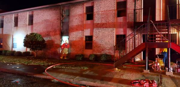 UPDATED @ 3:41 AM.   03:10 AM.   BREAKING.   Active Structure Fire Apartments In Kinsey