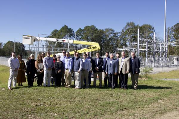 WEC celebrates new Fadette substation at ceremony