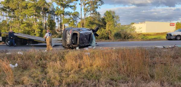 UPDATED at 4:10 PM  Serious Critical Accident On Highway 84 East - Ashford