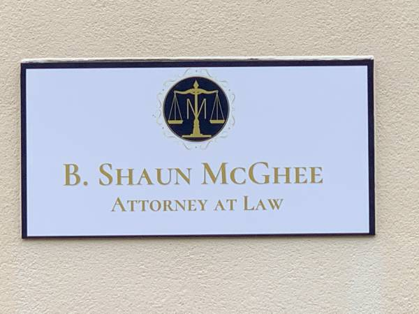 Shaun McGhee - Attorney At Law - Makes An Announcement