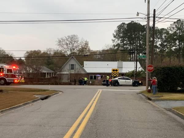 4:42 PM  Motor Vehicle Accident - Overturned - Fortner Street