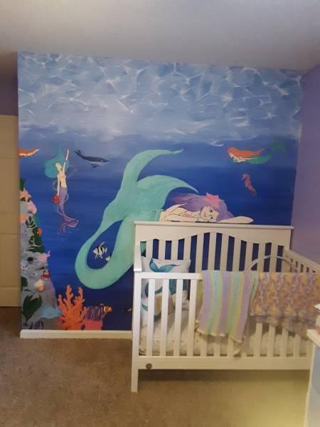 Local Muralists Looking To Serve YOU! G. Willikers Indoor Murals