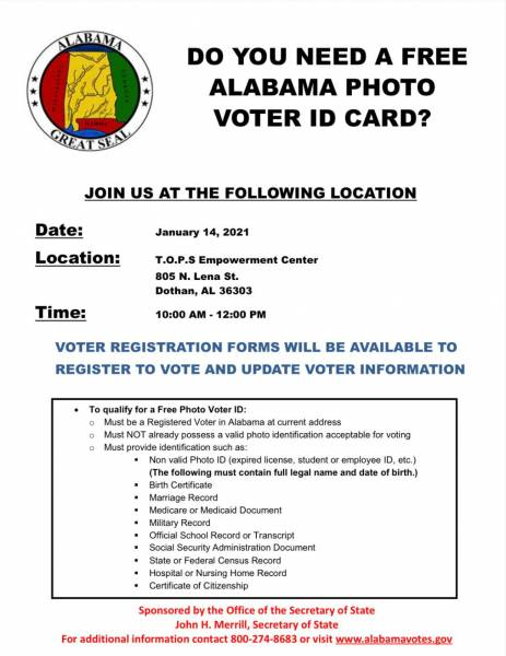 Do You Need a Alabama Photo Voter ID Card? We Can Help