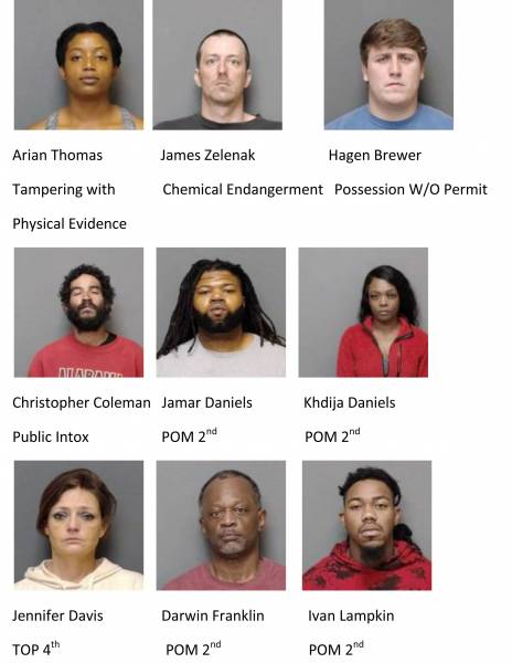 Houston County/Dothan City Weekend Mugshots 1/8/2021-1/10/2021