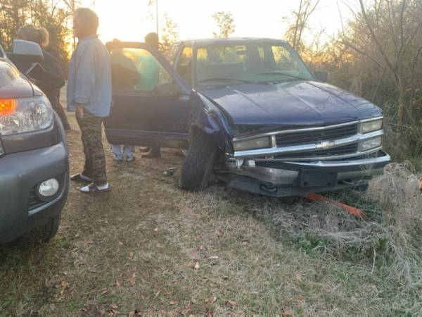 6:30 AM.. Motor Vehicle Accident at South Springhill Road and South County Road 8