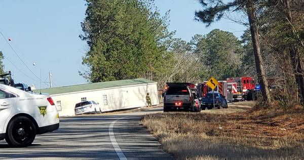 12:55 PM... Motor Vehicle Accident Hwy 27 Between Ozark and Enterprise