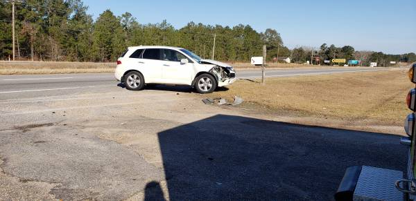 8:58 AM.. Motor Vehicle Accident in the 7100 Block of US 231