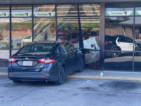 11:21 AM   Vehicle Drives Into Dollar Tree On Murphy Mill Road