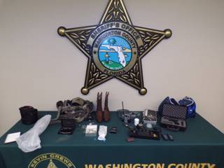 Chipley Fl Man Charged  with 2 ounts Grand Theft pf a Firearm and 1 Count of Grand heft of Property