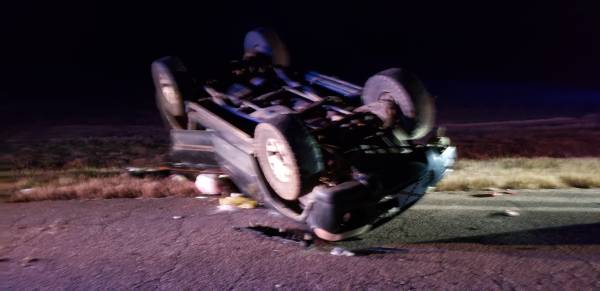5:27 PM... Vehicle Rollover on Willie Varnum Road