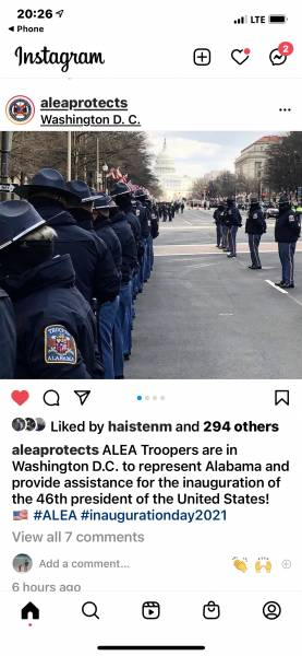 ALEA - Troopers Protect These The Great United States of America Today