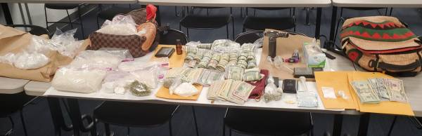 Surveillance of a residence Nets Two on Drug Charges