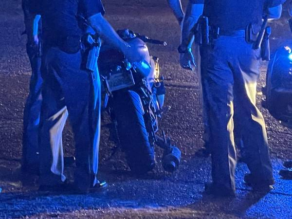 UPDATED @ 9:34 PM     9:08 PM.  Dale County ALEA Chase Ends In Crash