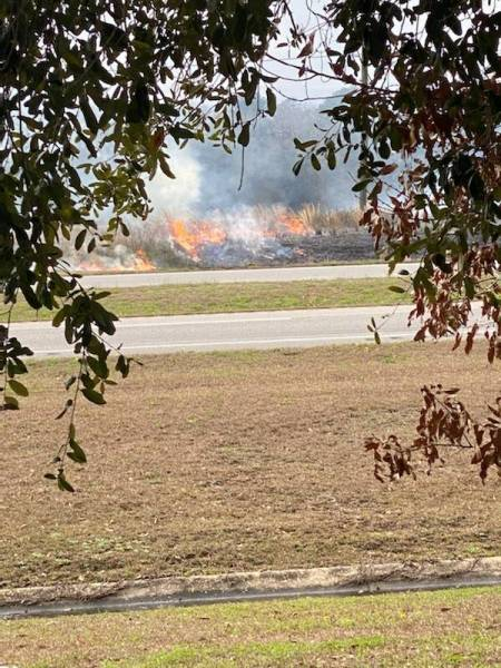 2:16 PM.. Vehicle Fire On US 231 Near Welcome Center