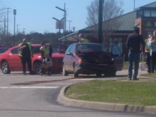 10:46 AM.. Motor Vehicle Accident in the 2200 block of East Main
