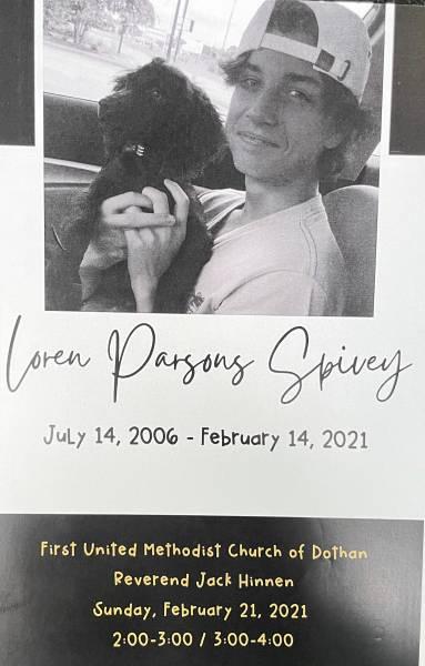 Loren Parsons Spivey - Memorial Service