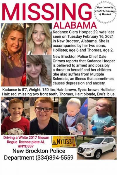 Missing Person Alert