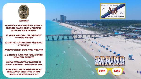 Panama City Beach Spring Break 2021