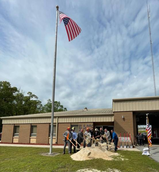 Bonifay Fire-Rescue Holds Ground breaking Ceremony