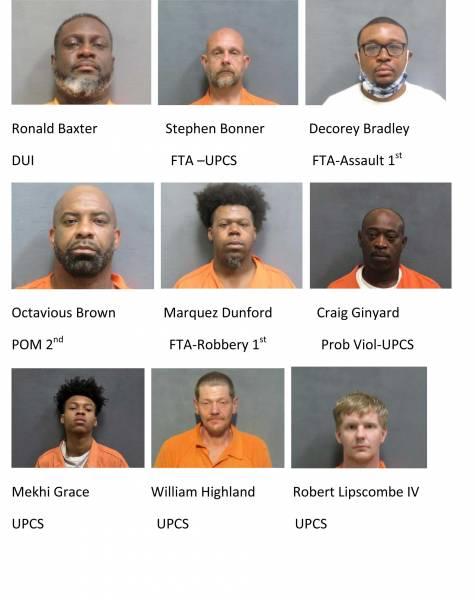 Houston County Weekend Mugshots 3/26/2021-3/28/2021