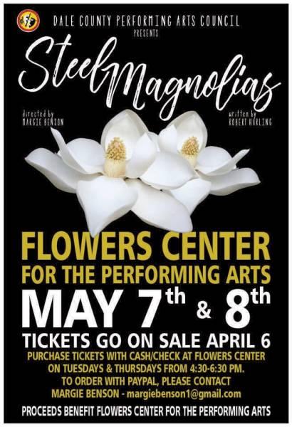 Dale County Performing Arts Presents Steel Magnolias