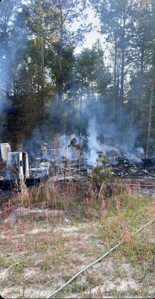 6:15 PM.   Hagler Road - Hodgesville Fire