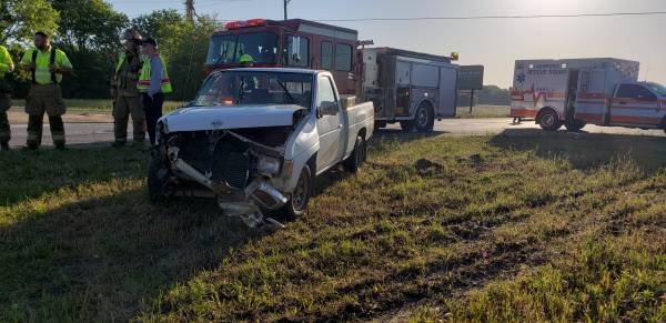 7:15 AM...Motor Vehicle Accident at US 84 and Rocky Creek Road