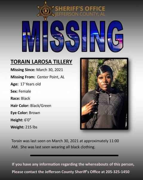 Jefferson County Missing Person's
