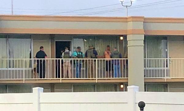 CORRECTION: US Marshall's Hits Room at Local Motel