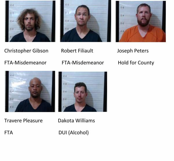 Dale County/Coffee County Mugshots 4/6/2021