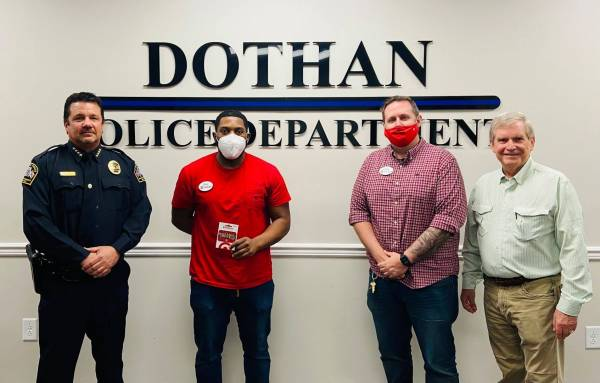 Thank to Target for Support The Dothan Police Foundation