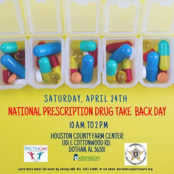 DEA 20th ANNUAL PRESCRIPTION DRUG TAKE BACK DAY