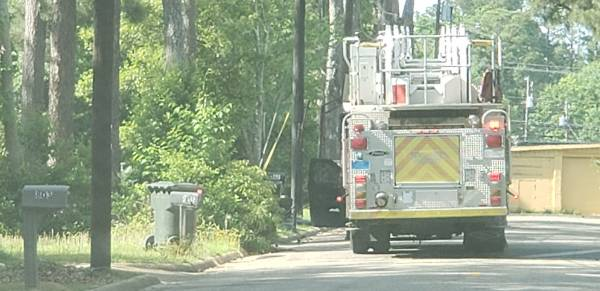 3:53 PM.. Structure Fire reported at 805 North Herring Street