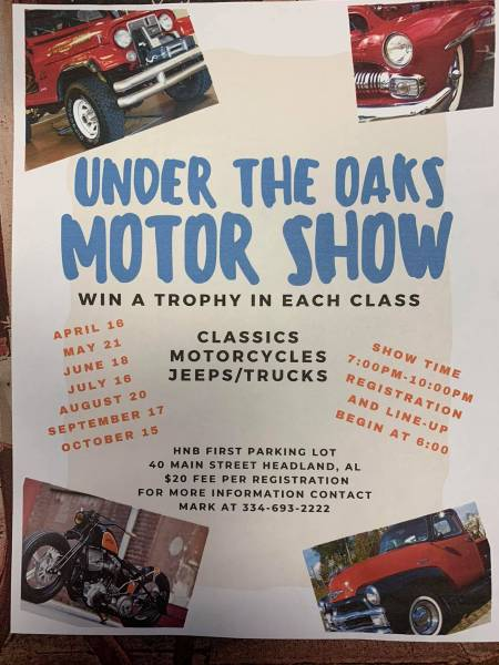 Under The Oaks Motor Show