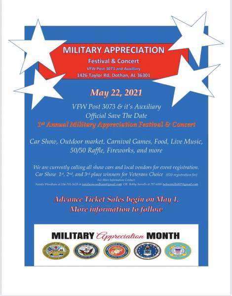 Military Appreciation Festival & Concert