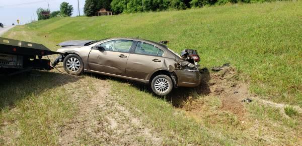 9:51 AM.. Vehicle Overturned on Reeves Street