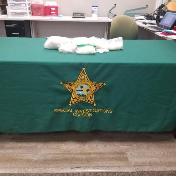 INVESTIGATORS SEIZE MORE THAN SIX POUNDS OF METH