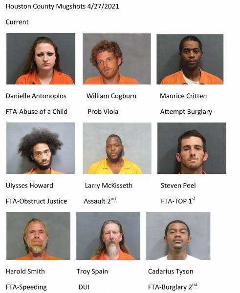 Dothan City /Houston County Mugshots 4/27/2021