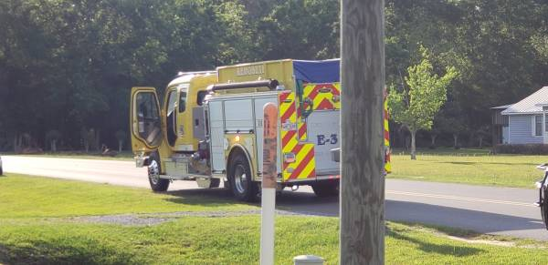 5:25 PM... Structure Fire Reported at 486 Malvern Road