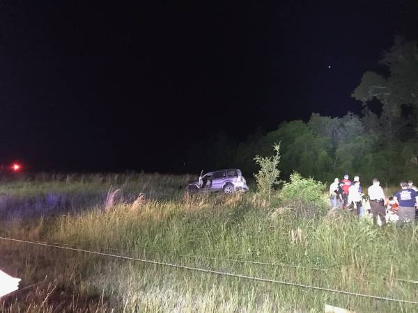 UPDATED at 9:29 PM... 9:13 PM... Single Vehicle Accident at East County Road 8 at Jeffcoat Road