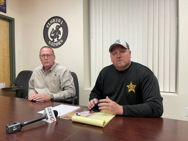 Press Conference Holmes County Sheriff John Tate and Jackson County Sheriff Donnie Edenfield Concerning Sunday Murder