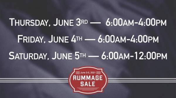 Rummage Sale - Memphis Baptist Church