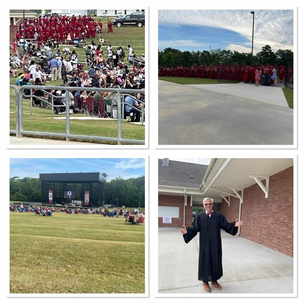 Dothan High Graduation - Causes Delays On Highway 231