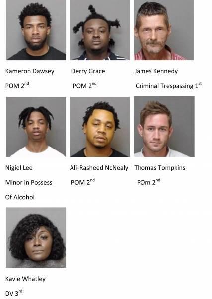 Houston County/Dothan City Mugshots 6/7/2021