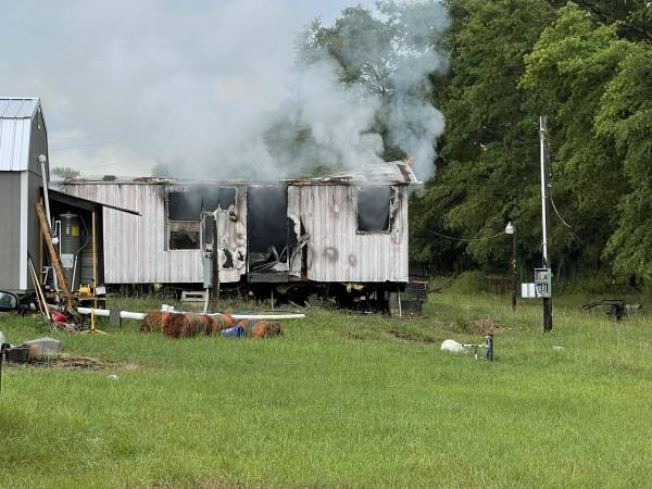 Structure Fire In Geneva County