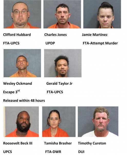Houston County Weekend Mugshots 7/9/2021-7/11/2021