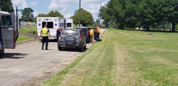 10:50 AM..Motor Vehicle Crash at Memorial and Plant
