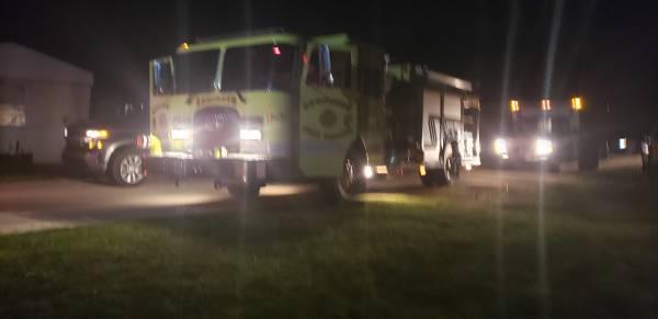 9:41 PM.. Strucutre Fire at Coggins Trailer Park